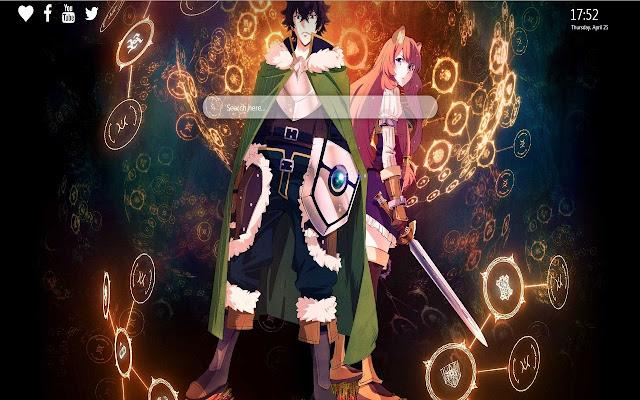 Shield Hero Anime Wallpaper New Tab
