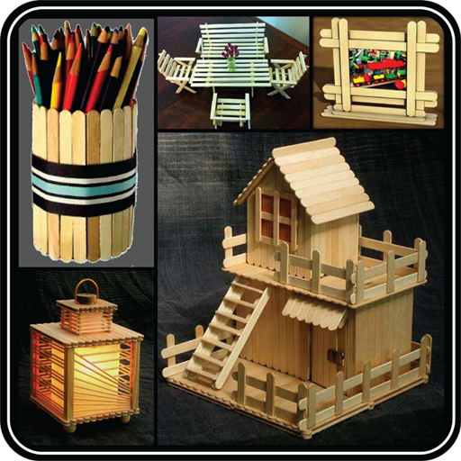 Diy Popsicle Stick Craft Steps Ideas Home Gallery On Google Play