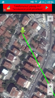 Screenshot of Qibla Direction and Location