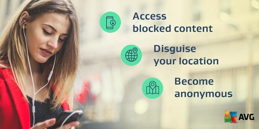 Secure VPN by AVG – Unlimited VPN & Proxy server 1.5.2117 screenshots 1