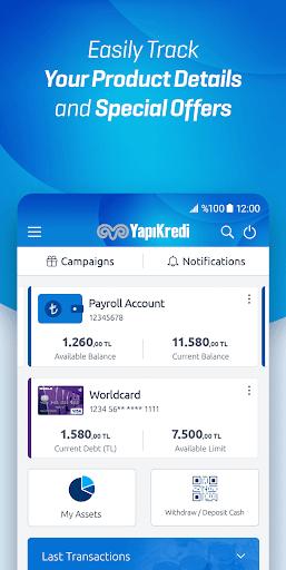 Yapı Kredi Mobile screenshot 6