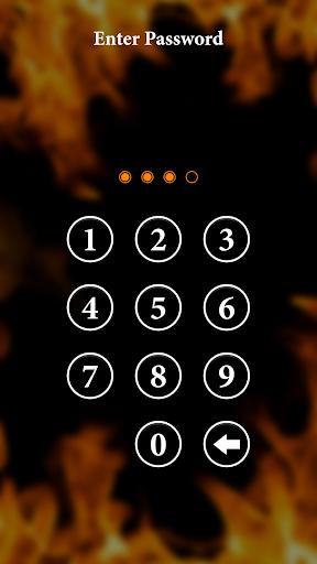 Fire Lock Screen 2.4 screenshots 3