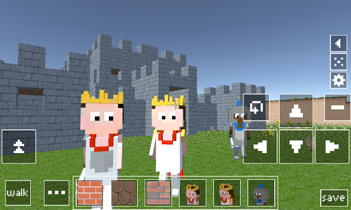 Castle Craft: Knight and Princess apkpoly screenshots 1