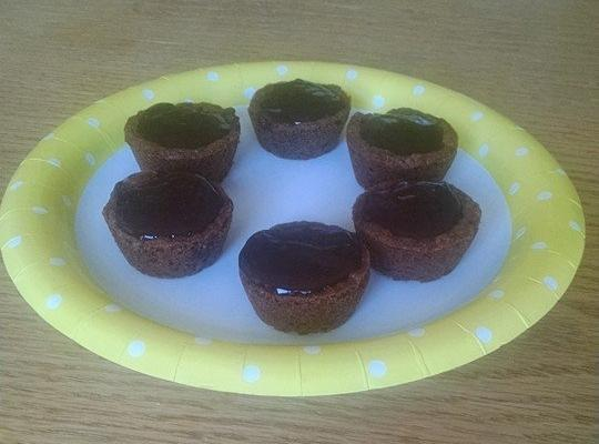 Chocolate Filled Chocolate Chip Cookie Cups Recipe