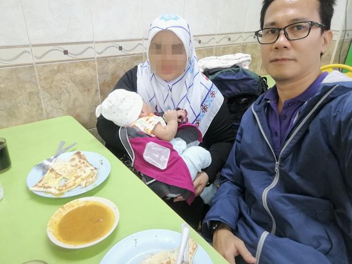 sarapan pagi di Restoran Nasi Dalcha Kassim Mustafa