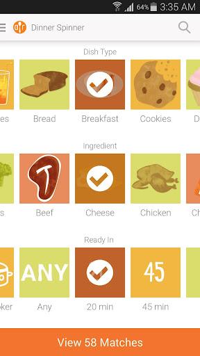 Allrecipes.com Dinner Spinner screenshot 7