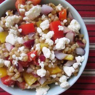 Vegetarian Greek Quinoa Salad Recipe