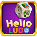 Hello Ludo™- Live online Chat on star ludo game ! icon