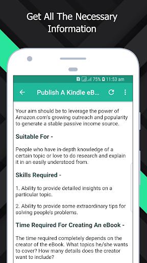 Make Money - Legitimate Passive Income Ideas screenshot