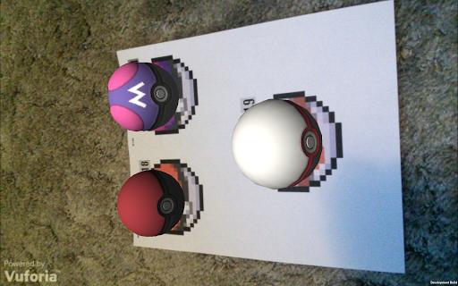 3D A.R. Pokeball Pokedex