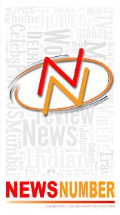 NewsNumber - náhled