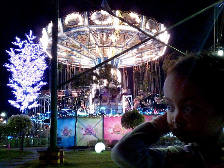 Sparkling carousel
