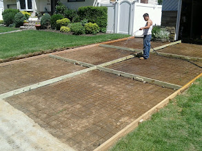 Photo: New Driveway getting ready to be poured, Hempstead NY