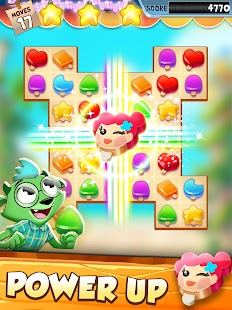 Tropical Treats: Ice Cream Match 3 Screenshot