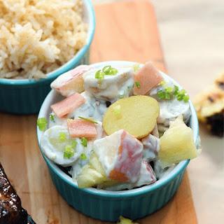 Apple Potato Salad.