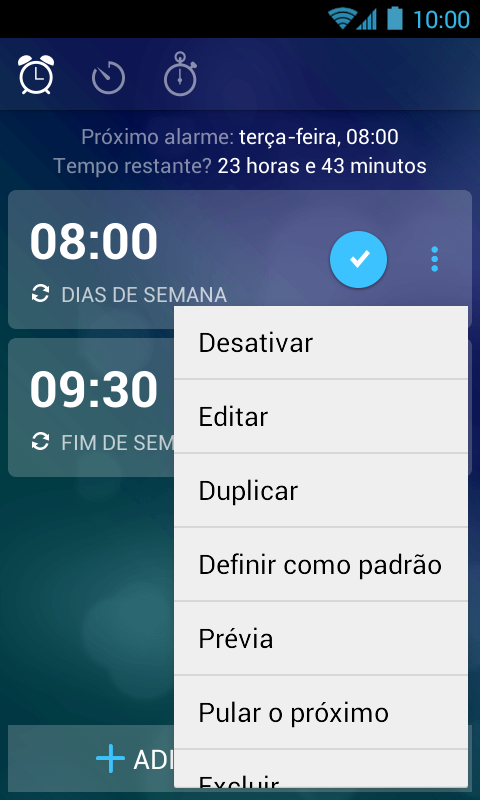 Despertador Grátis + Timer - Imagem 3 do software