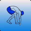 Swimming trainning icon