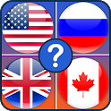 Flags quiz game: World flags trivia icon