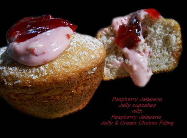 Raspberry Jalapeno Jelly Cupcakes Recipe