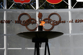Photo: Torch is still lit. Reno/Tahoe has put in a bid for the 2022 Winter Olympics. Maybe this time they'll have a bobsled track?