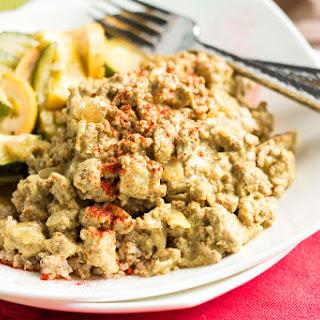 Ground Turkey Curry.