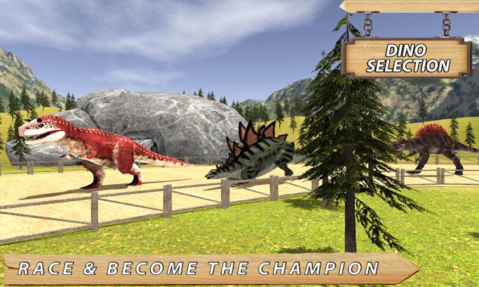 Wild Dinosaur Race 2016 screenshot