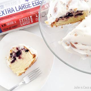 Lemon Blueberry Pound Cake