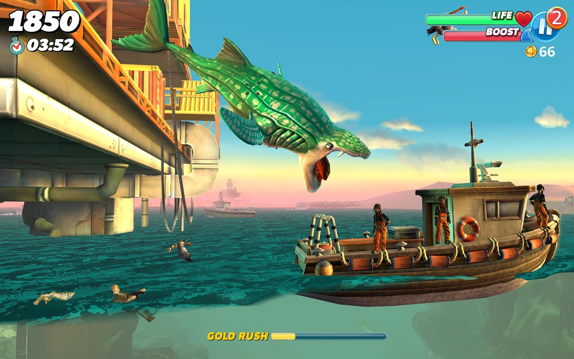 Hungry Shark World screenshot #6