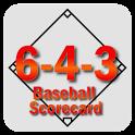 6-4-3 Baseball Scorecard icon
