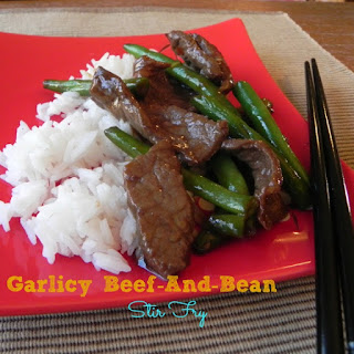 Garlicky Beef and Bean Stir-Fry