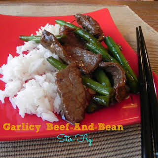 Garlicky Beef and Bean Stir-Fry.