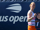 Van Uytvanck legt Kuzmova over de knie op US Open