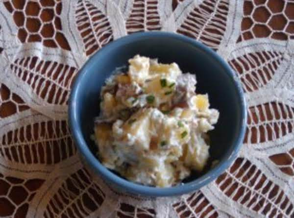 Red, White, And Bleu Potato Salad Recipe