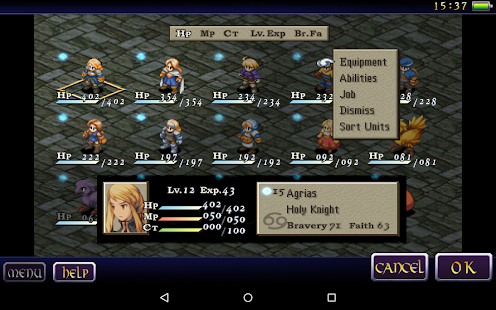FINAL FANTASY TACTICS : WotL Screenshot 13