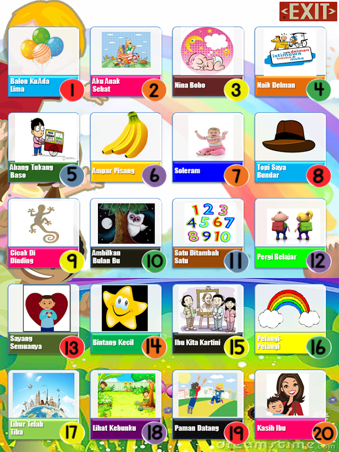 lagu anak indonesia 20   android apps on google play