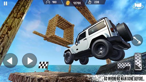 Télécharger Gratuit 4x4 Voiture Conduire  SUV de conduite automobile mod apk screenshots 4