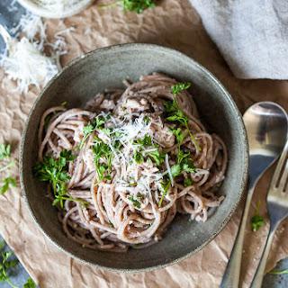 10-minute Whole Grain Spaghetti al Tonno.