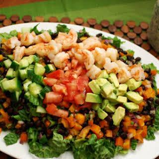 Mexican Shrimp Cobb Salad.