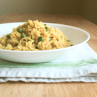 Yellow Rice & Peas