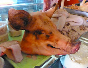 Photo: Whole pig head available for making head cheese
