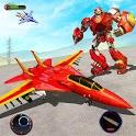 Jet War Robot Shooting : Robot Games icon