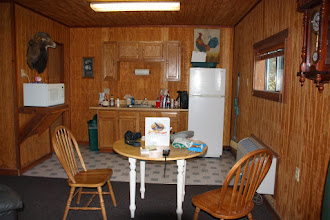Photo: Full Kitchenette in each room at the Soaring Eagle Lodge