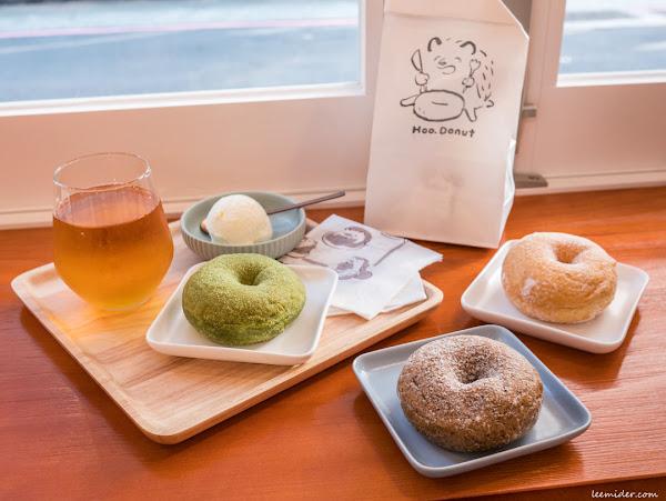 台北古亭-Hoo. Donut呼點甜甜圈,有著可愛小刺蝟招牌插圖的鬆軟口感日式甜甜圈