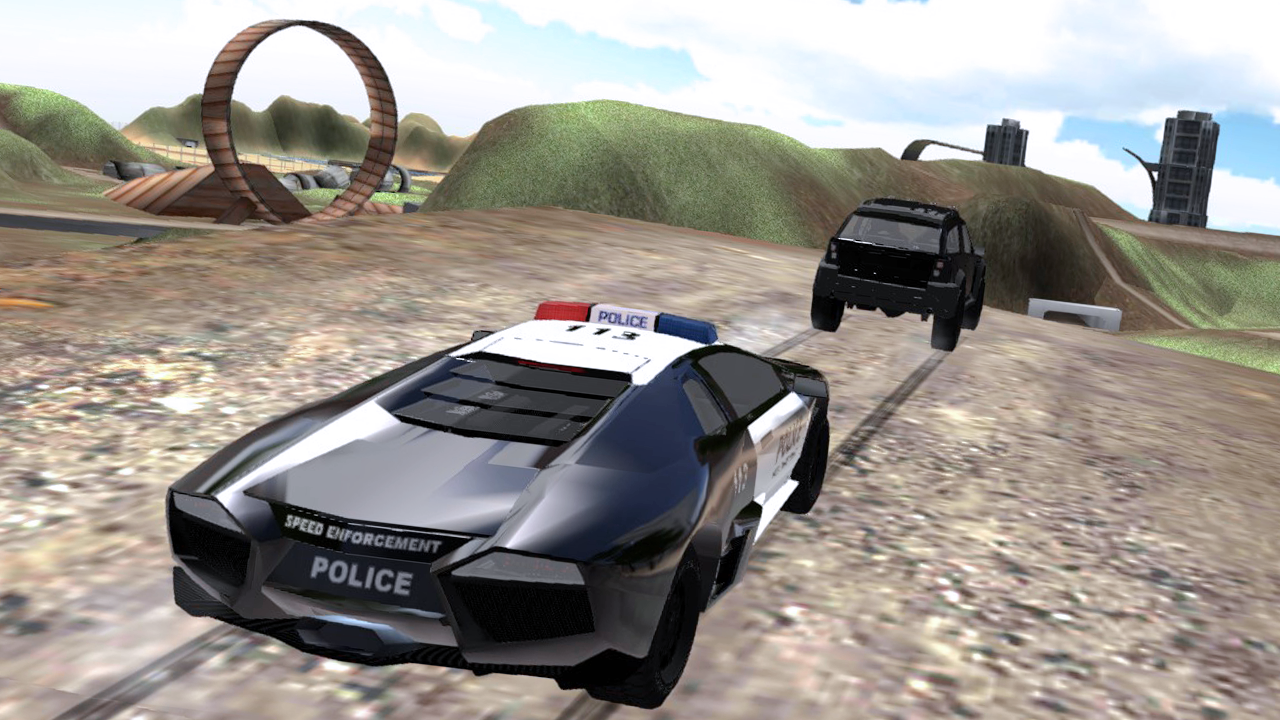 Police Chase Car Drifting- screenshot