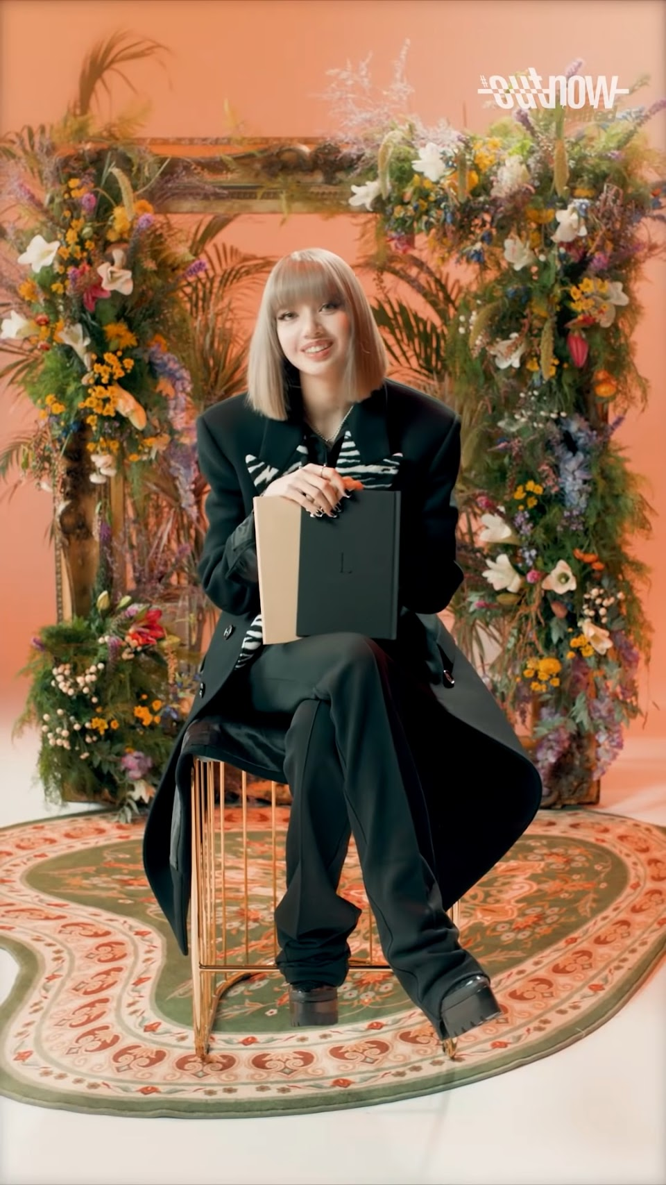 LISA - Photobook Interview 'JUST ME' _ OUTNOW Unlimited 210914 5-8 screenshot