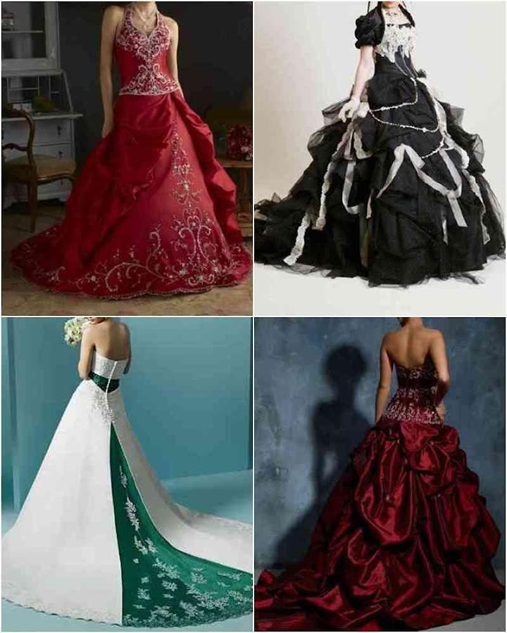 Colorful Wedding Dress Design Android Apps on Google Play