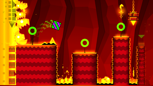 Geometry Dash Meltdown Screenshot