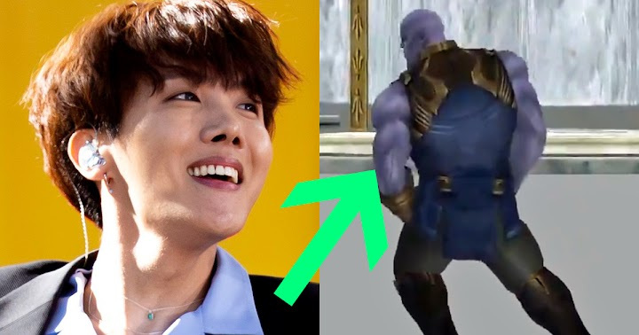 Thanos Dancing To BTS's