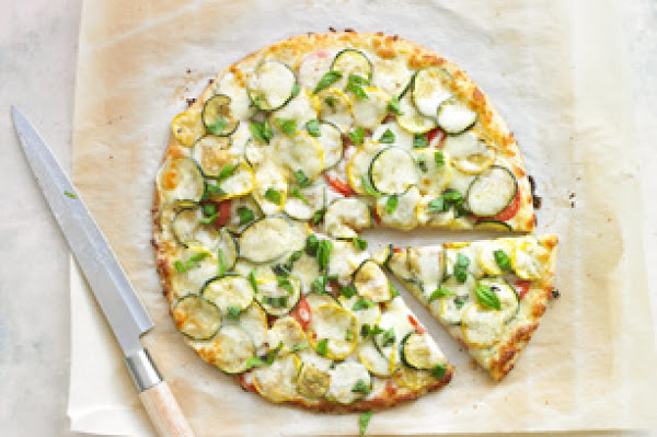 Summer Squash Pizza Recipe
