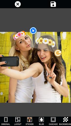 無料摄影AppのMirror Photo 画像コラージュ&テンプレート文字入|記事Game